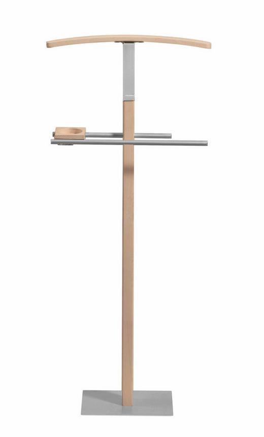 HERRENDIENER Buchefarben - Buchefarben, KONVENTIONELL, Holz/Metall (45/103/28cm) - HASENA