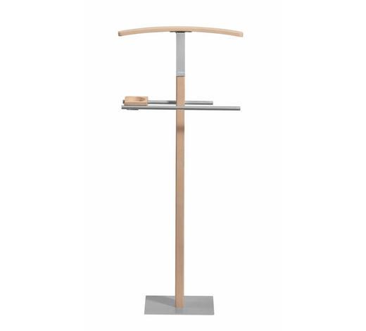 HERRENDIENER - Buchefarben, KONVENTIONELL, Holz/Metall (45/103/28cm) - Hasena