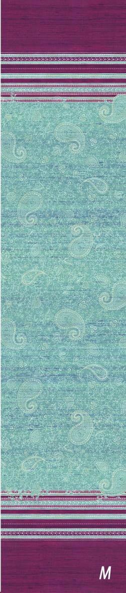 BETTWÄSCHE Blau, Pink - Blau/Pink, Basics, Textil (135/200cm) - BASSETTI