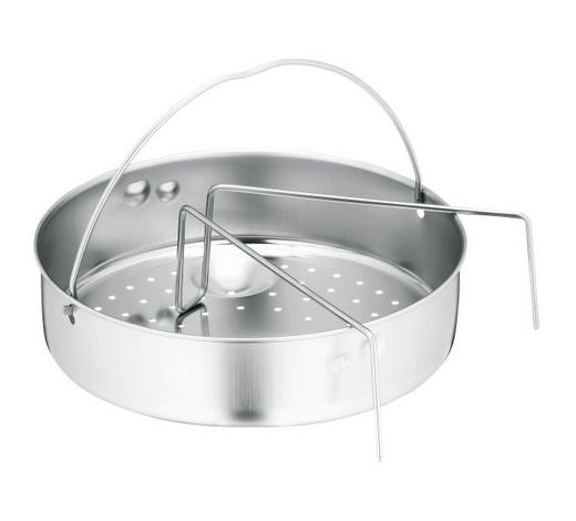 EINSATZSTEG  - Silberfarben, Design, Metall (22cm) - WMF