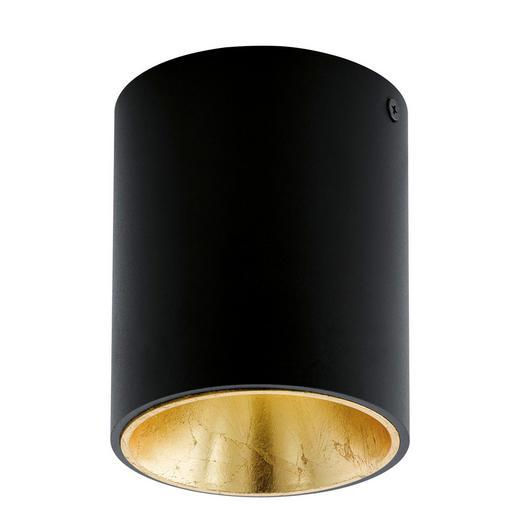 LED REFLEKTOR POLASSO, 94502 - črna/zlata, Design, kovina/umetna masa (10/12cm)