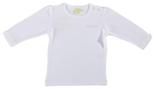 BABYSHIRT - Weiß, Basics, Textil (56) - Patinio
