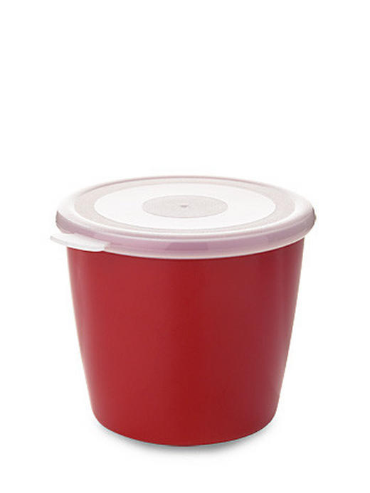 VORRATSDOSE 0,650 L - Transparent/Rot, Basics, Kunststoff (0.650l) - MEPAL ROSTI