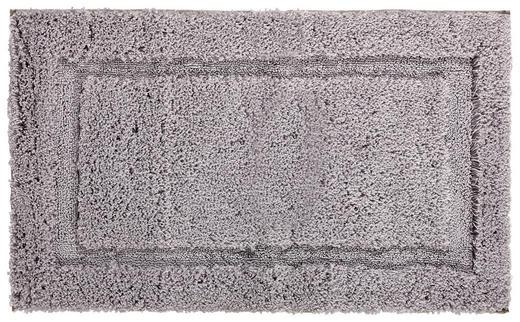 BADEMATTE  Silberfarben  60/100 cm - Silberfarben, KONVENTIONELL, Textil (60/100cm) - Esposa