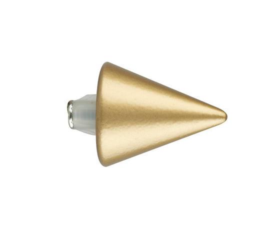 KONCOVKA - barvy zlata, Basics, kov (3.5/2.8cm) - Homeware