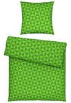 BETTWÄSCHE Seersucker Grün 135/200 cm  - Grün, KONVENTIONELL, Textil (135/200cm) - Esposa