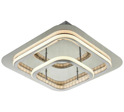 LED-DECKENLEUCHTE - Chromfarben, Design, Kunststoff/Metall (37/37cm) - Novel