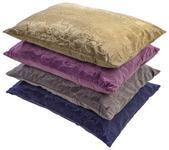 Zierkissen Venezia 40x60 cm - Sandfarben/Blau, KONVENTIONELL, Textil (40/60cm) - Ombra