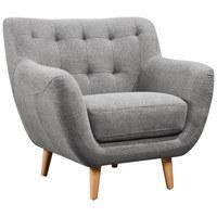 KŘESLO - šedá/světle šedá, Design, dřevo/textilie (90/84/84cm) - Carryhome