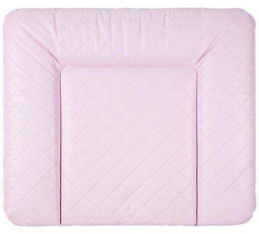 PREVIJALNA PODLOGA KARO, ROZA - roza, Basics, umetna masa (85/72cm) - Patinio
