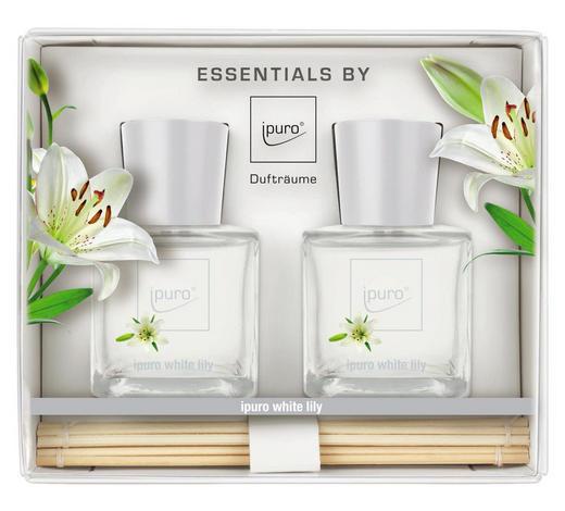 DIFFUSER WHITE LILY   - Klar, Basics (50ml) - Ipuro