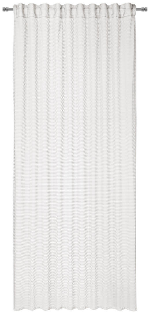 FERTIGVORHANG  transparent  140/245 cm - Weiß, Textil (140/245cm) - Esposa