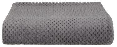 Kuscheldecke Belinda - Anthrazit, ROMANTIK / LANDHAUS, Textil (130/170cm) - James Wood