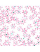 Serviette - Rosa/Weiß, Trend, Papier (33/33cm)