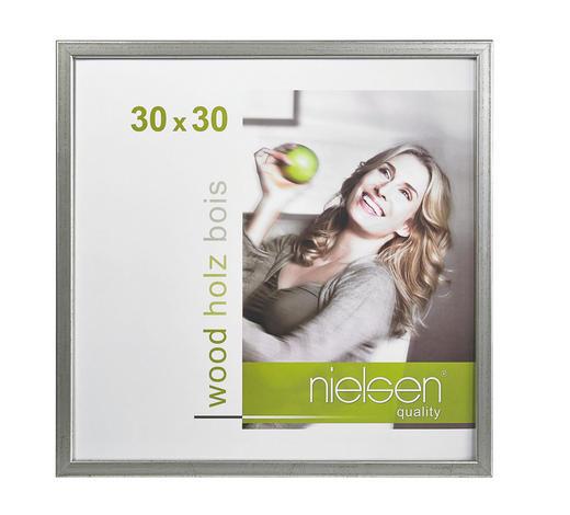 BILDERRAHMEN  Silberfarben - Silberfarben, Basics, Holz (30/30cm) - Nielsen