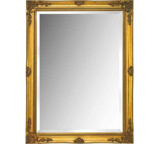 OGLEDALO  60/80/3,3 cm     - boje zlata, Lifestyle, drvo (60/80/3,3cm) - Landscape