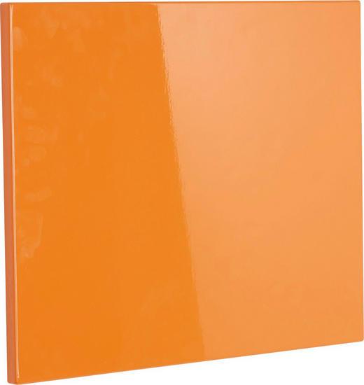 Klappe für Schuhschrank Orange - Orange, Design (52/42cm) - Xora