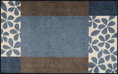 FUßMATTE 75/120 cm Graphik Grau, Beige  - Beige/Grau, Basics, Kunststoff/Textil (75/120cm) - Esposa