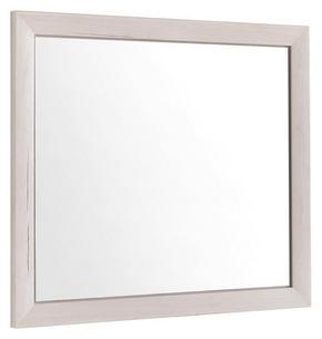 SPEGEL - vit, Lifestyle, glas/träbaserade material (87/76/2,5cm) - Hom`in