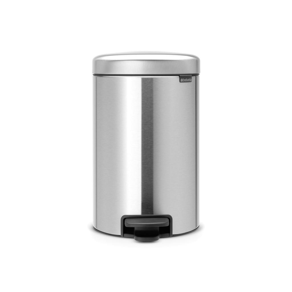 Image of Brabantia Abfalleimer metall , 112041 , Kunststoff , 12 l , 25.1x41.1x33.8 cm , 003394044401