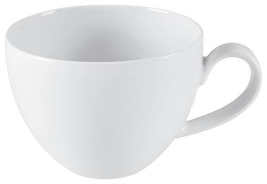 JUMBOTASSE - Weiß, Keramik (0,37l) - Seltmann Weiden