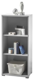 REGAL ZA DOKUMENTE - boje srebra/svijetlo siva, Design, drvni materijal (52/114/35cm) - Xora