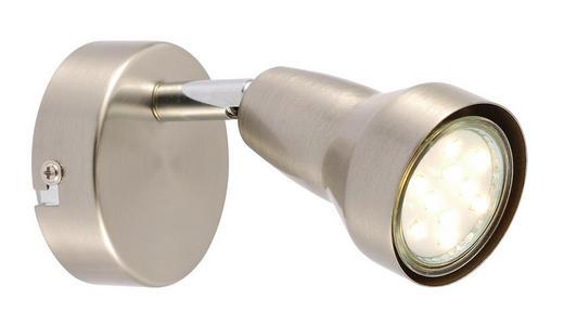 LED-STRAHLER - Nickelfarben, KONVENTIONELL, Metall (8/8cm) - Boxxx