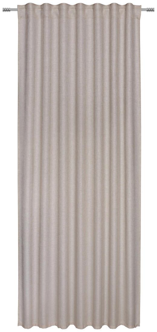 FERTIGVORHANG - Beige, KONVENTIONELL, Textil (140/245cm) - Esposa
