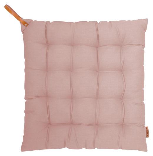 STUHLKISSEN Altrosa 40/40/4 cm - Altrosa, Textil (40/40/4cm)