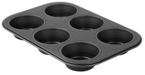 MUFFINSFORM - svart, Basics, metall (27,5/18,5/3cm)