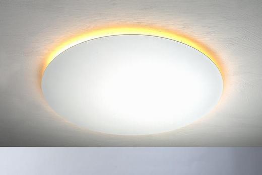 LED-DECKENLEUCHTE - Weiß, Design, Metall (59/3,5cm)