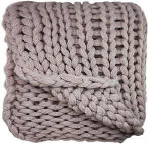 SÄNGÖVERKAST - gammelrosa, Trend, textil (127/152cm) - Ambia Home