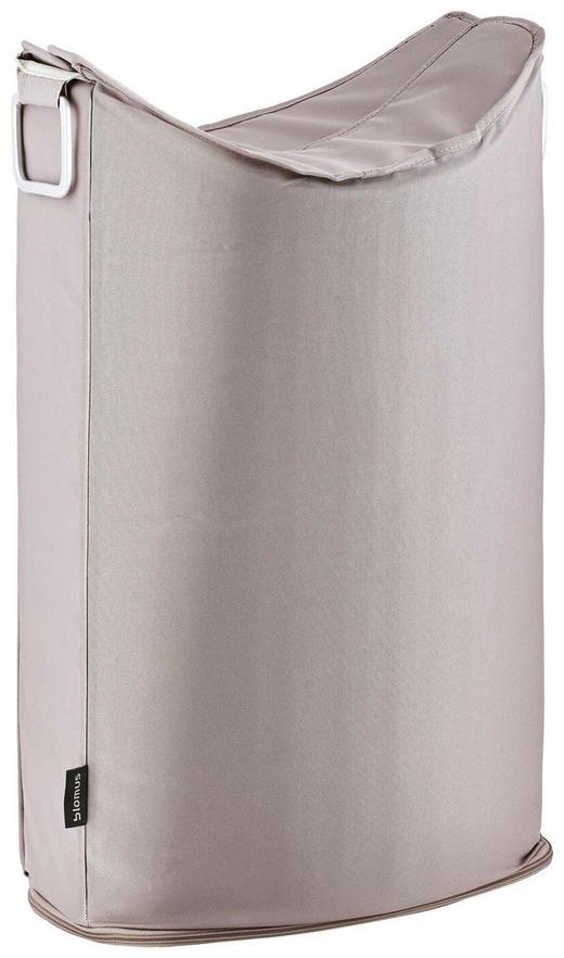 WÄSCHETONNE - Taupe, Basics, Textil/Metall (45/70/28cm) - Blomus