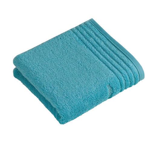 RUČNÍK, 50/100 cm, světle modrá - světle modrá, Basics, textil (50/100cm) - Vossen