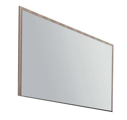SPIEGEL 119/84/2 cm - Eschefarben, Design, Glas/Holzwerkstoff (119/84/2cm) - Cassando
