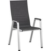 STAPELSESSEL Aluminium Anthrazit, Silberfarben - Anthrazit/Silberfarben, Design, Textil/Metall (61/104/71cm) - KETTLER HKS