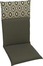 SEDEŽNA BLAZINA - siva/antracit, Design, tekstil (50/120cm)