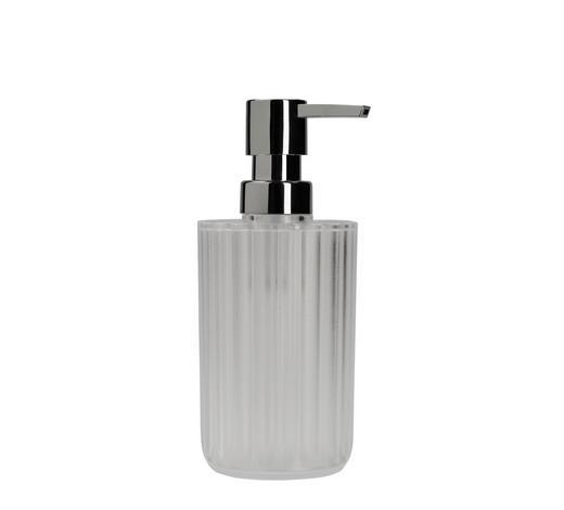 SEIFENSPENDER Kunststoff - Weiß, Basics, Kunststoff (7,5/17cm) - Kleine Wolke