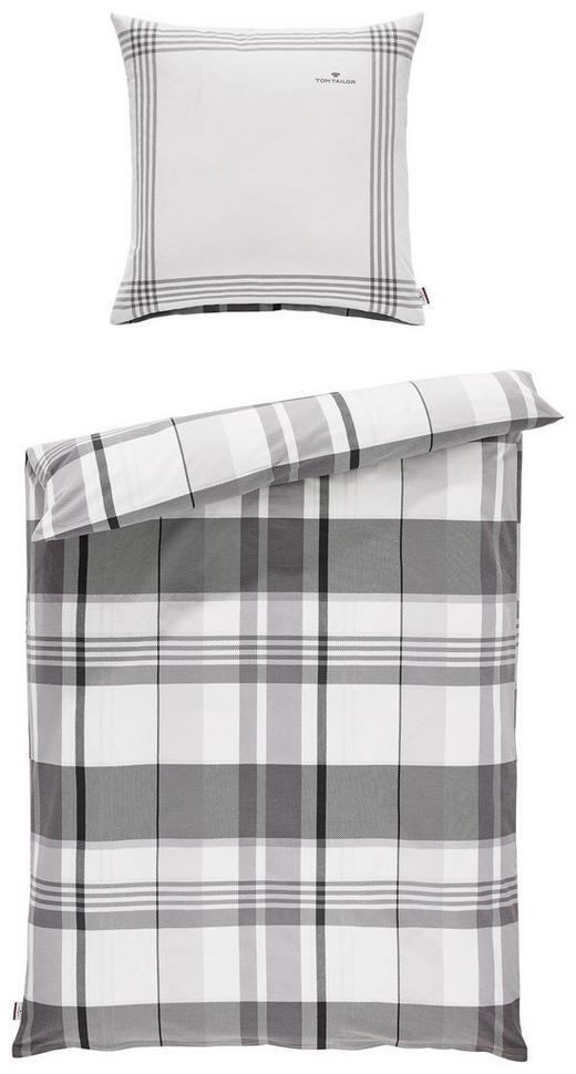 BETTWÄSCHE Satin Grau 135/200 cm - Grau, Design, Textil (135/200cm) - Tom Tailor