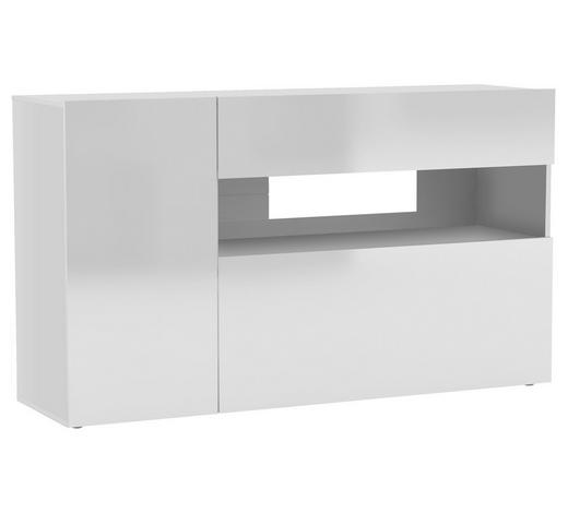 SIDEBOARD 140/80/40 cm - Weiß, Design, Holzwerkstoff (140/80/40cm)