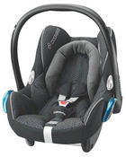 Babyschale CabrioFix - Schwarz, Basics, Kunststoff/Textil (44,5/57,/71,5cm) - MAXI COSI
