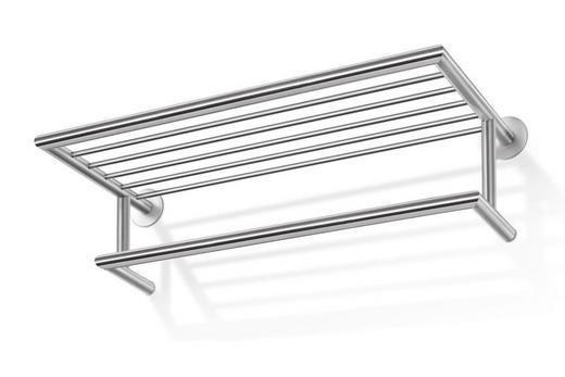 WANDGARDEROBE Edelstahlfarben - Edelstahlfarben, Design, Metall (66/17/29,5cm)
