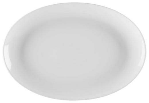 SERVIERPLATTE - Weiß, Basics (35/25/3cm) - Seltmann Weiden