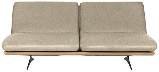 SCHLAFSOFA in Holz, Textil Beige - Beige/Schwarz, Design, Holz/Textil (204/92/90cm) - Dieter Knoll