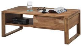 COUCHTISCH in Holz 110/60/40 cm   - Eichefarben, Natur, Holz (110/60/40cm) - Carryhome
