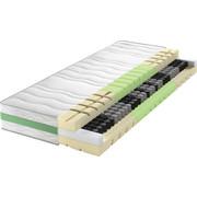 TASCHENFEDERKERNMATRATZE ROAD 290 TFK COMFEEL PLUS 90/200 cm 24  cm - Weiß, Basics, Textil (90/200cm) - Schlaraffia