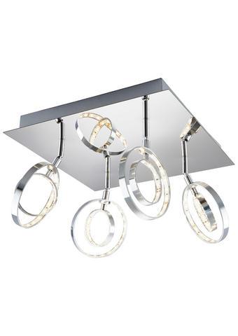 LED-REFLEKTOR - krom, Design, kovina (32/20,5cm) - Novel