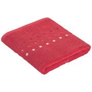 Handtuch 50/100 cm  - Rot, Konventionell, Textil (50/100cm) - Esposa