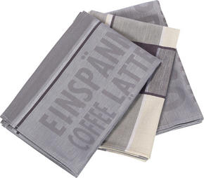 KÖKSHANDDUK SET - grå, Klassisk, textil (50/70cm) - Esposa