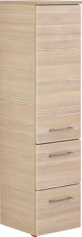 MIDI SKŘÍŇKA - barvy chromu/barvy pinie, Design, kov/dřevěný materiál (30/121,2/33cm) - Sadena